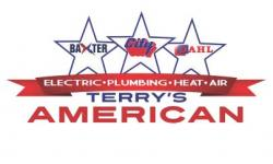 Terry's DAHL Plumming Electric Heat and Air logo